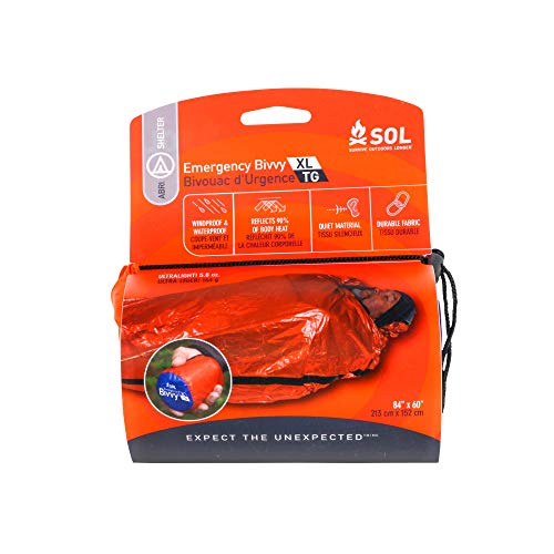 Adventure Medical Kits Emergency Bivvy - Orange, 2 Persons