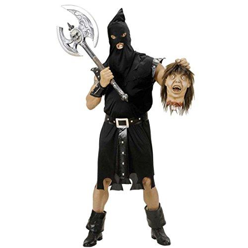 Disfraz de Verdugo de la Muerte de la Edad Media de la Edad Media de Disfraz de Terror Verdugo Traje Scary Halloween Disfraz Verdugo Disfraces de Carnaval de Disfraz de Terror para Adultos