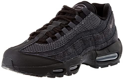 Nike Air Max 95 OG, Scarpe da Ginnastica Uomo, Black/Iron Grey-off Noir-Dk Smoke Grey, 45.5 EU