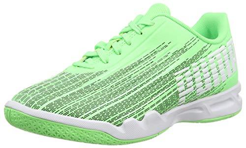 PUMA Adrenalite 4.1 Jr, Scarpe da Calcio Unisex-Bambini, Verde (Elektro Green Black White), 35.5 EU