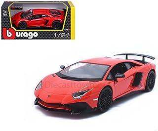 Bburago 18-21079 B 1, 24 Scale A Lamborghini Aventador DIE-CAST Model, Multicolor