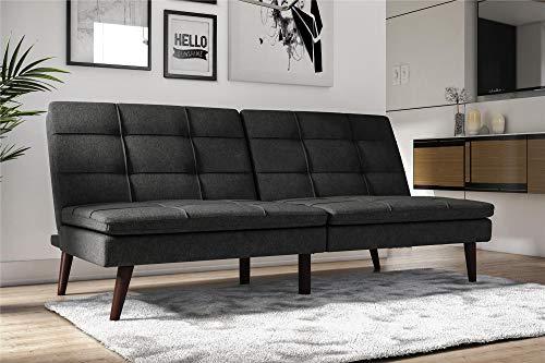 DHP Westbury Linen Pillowtop Futon, Grey Linen