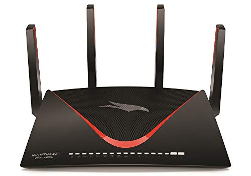 NETGEAR Nighthawk Pro Gaming XR700 WiFi Router with 6 Ethernet ports and wireless speeds up to 7.2 Gbps,...