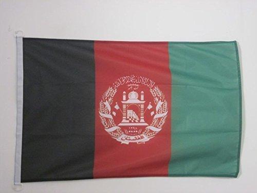 AZ FLAG Flagge Afghanistan 150x90cm - AFGHANISCHE Fahne 90 x 150 cm Aussenverwendung - flaggen Top Qualität