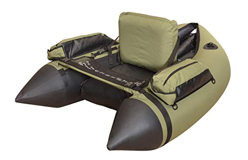Wistar Inflatable Fishing Float Tube with Inflatable seat,a Foot air Pump i