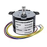LF_FFa 1PC 50KTYZ Magnete Permanente Motore sincrono AC 220V di Giri Motori controllabile Positivo e Negativo Inversione 6W (Taglia : 30rpm)