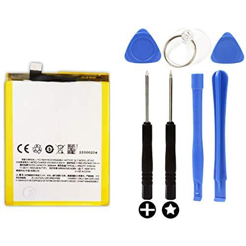 Bateria para Meizu M2 Note + Kit Herramientas/Tools   3100mAh   Modelo: BT42C