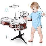 M SANMERSEN Kids Jazz Drum Set...