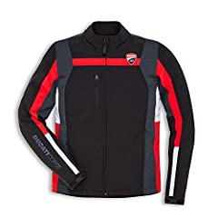 Textile Jacket Exterior: Elasticated soft-shell created by combining 3 layers (soft-shell fabric, windproof and breathable membrane, microfleece)/ 4WAY hexagonal stretch fabric inserts Features: Entirely made breathable stretch fabrics/ 3 outer pocke...
