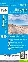 Hourtin Lacs d'Ho 1: 25 000