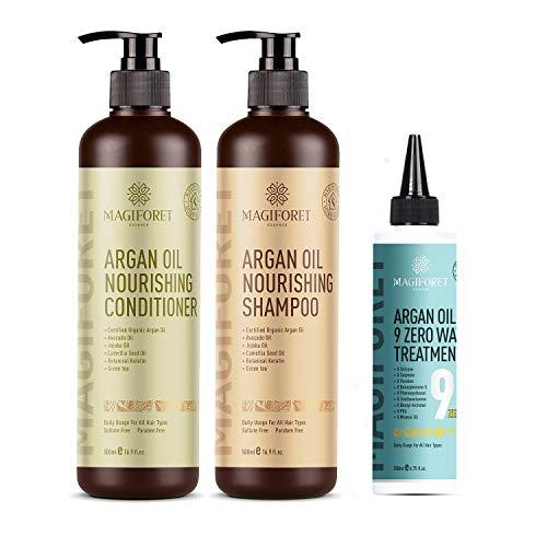 Shampoo + Conditioner + Hair Treatment