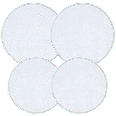Reston Lloyd Electric Stove Burner Covers, Set of 4, White