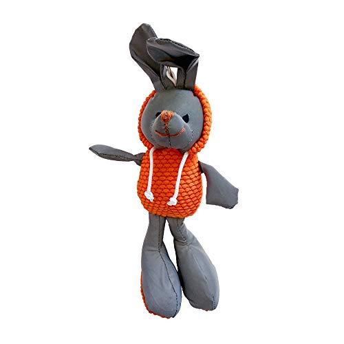 Reflector de Seguridad Infantil Llavero de Conejo para Ropa Bolsa Cochecitos