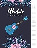 Ukulele Tab Notebook: Blank Ukulele Tablature Notebook, 8.5'x11', 110 Pages