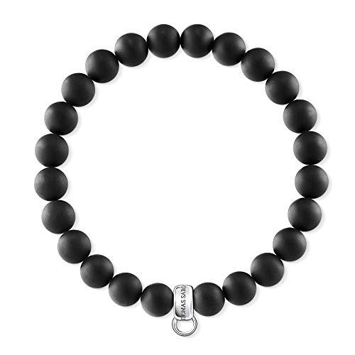 Thomas Sabo Damen-Armreifen Künstliche Perle X0219-023-11-L18,5