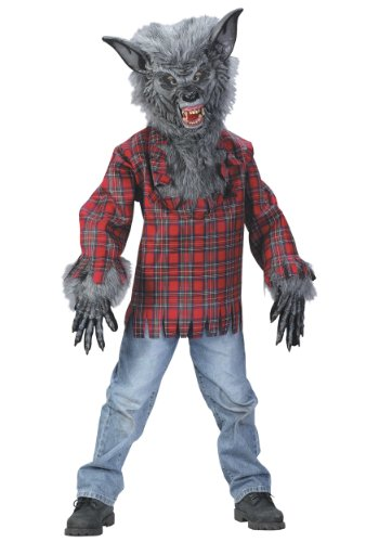 Fun World FW5813-L Grand costume de loup-garou d'enfants