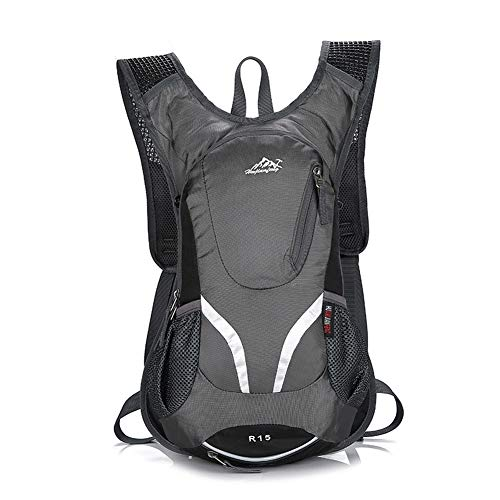 N / A Cycling Backpack Biking Daypack For Outdoor Sports Running Breathable Hydration Pack Men Women 20L,Purple, Gray, Blue, Black