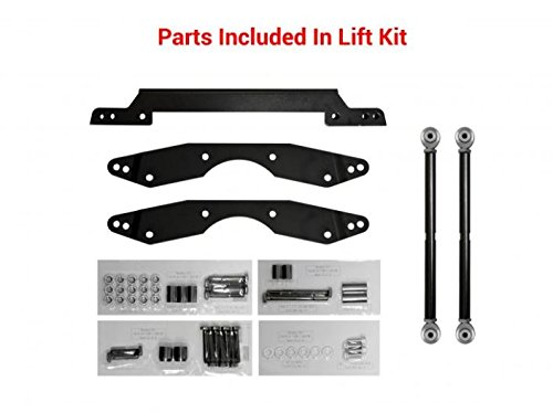 SuperATV Adjustable 1.5-3' Lift Kit for Polaris RZR 800 (2008-2014)   Easy to Install   See Fitment