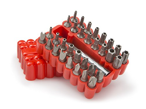 TEKTON 2930 Security Bit Set, 33-Piece