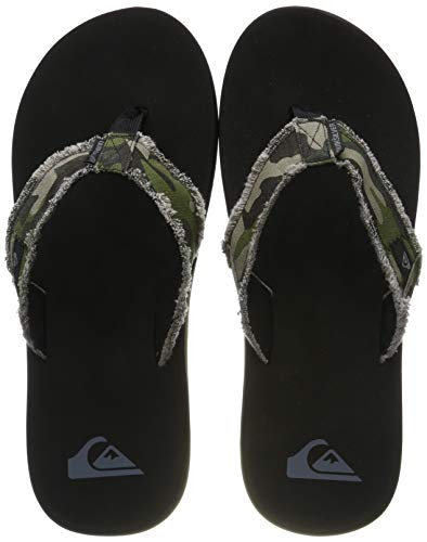 Quiksilver Monkey Abyss, Zapatos de Playa y Piscina para Hombre, Verde (Green/Brown/Black Xgck), 47 EU