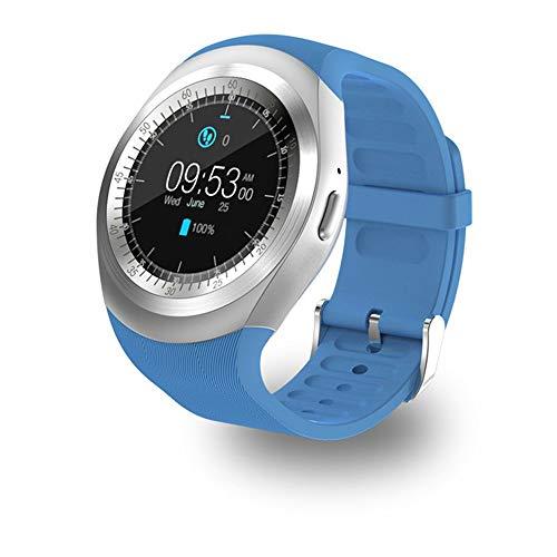 PNYGJZN Smart Watch mannelijk vrouwelijk Bluetooth waterdicht sporthorloge stappenteller outdoor horloge hartslagfrequentie fitness tracker Smart armband informatie, Blauw