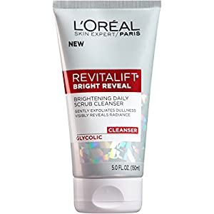 Anti aging products L'Oreal Paris Skincare Revitalift Bright Reveal Facial Cleanser with Glycolic