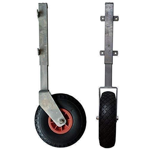 Stützrolle mit Teleskopfederung für Tore und Türen