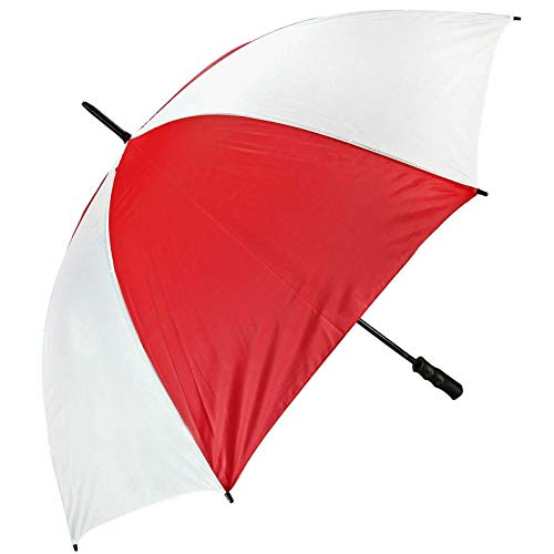 Large Unisex Golf Umbrella Windproof Strong Canopy Wind Rain Sun Shield Brolly
