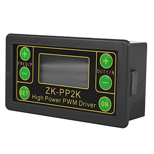 Ctzrzyt ZK-PP2K PWM 3.3-30V 12V 24V Regulador del Controlador de Velocidad del Motor 8A 150W Dimmer LED Ajustable Frecuencia de Pulso RelacióN de Trabajo