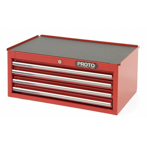 Stanley Proto J442710-4Rd-Ic 440SS Intermediate Chest, 4 Drawer, Red