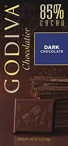 Godiva Tafel Dunkle Schokolade 85%, 100 g