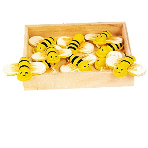 Legler 8033 - Deko-Bienen, 12-er Set