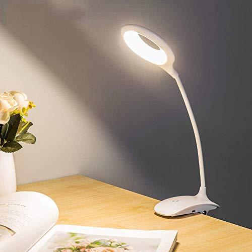 Tafellamp Touch Switch oogbescherming bureaulamp oplaadbare USB-tafellamp lampen tafellampen laag stroomverbruik voor leesestudieën werken Home Office tafellamp nachtkastje verlichting