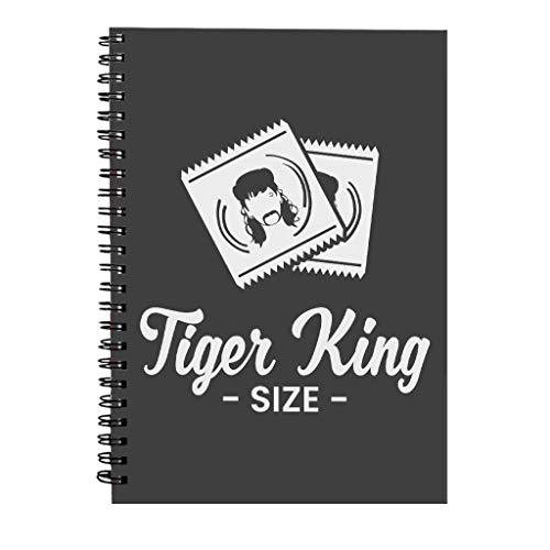 Tijger Koning Grootte Joe Exotische Condooms Spiraal Notebook