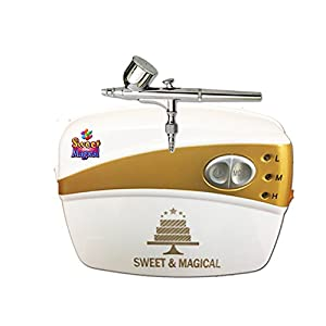 Sweet & Magical Decorating Tools Airbrushing Kit,white