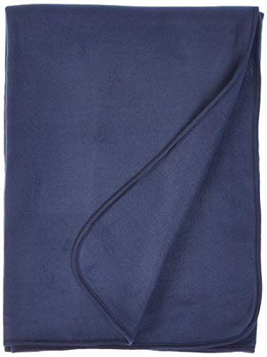 Snuggles Fleece Blanket Navy Blue Each