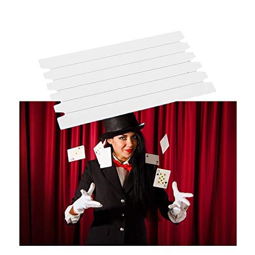 Comidox 4Packs(5 Lines/Pack Invisible Elastic Stretch Magic Hidden Coil Thread Loop Haunted Magic Trick Float Funny Novelty Magic Props