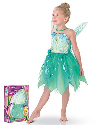 Disney - 154981s - Disfraces para Niños - Set Deluxe Tinkerbell Pixie - Talla S