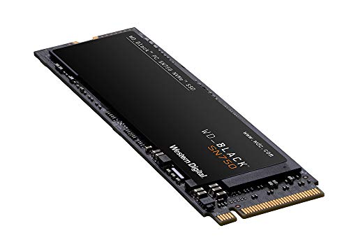 WD BLACK SN750 High-Performance NVMe M.2 interne Gaming SSD 1 TB, Mit Heatsink