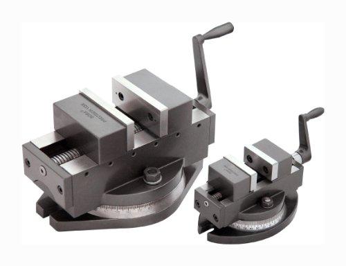 Selbstzentrierender Präzisionsmaschinenschraubstock 100 mm Breite mit Drehteller