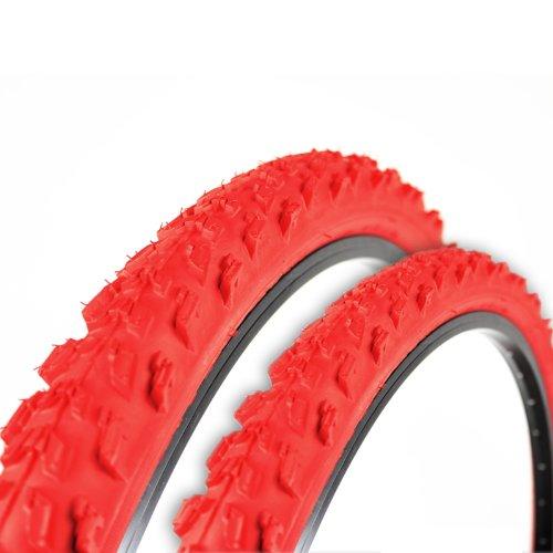 2x Kenda Fahrrad Reifen 26 x 1,95 50-559 rot K829 K-829 MTB A185