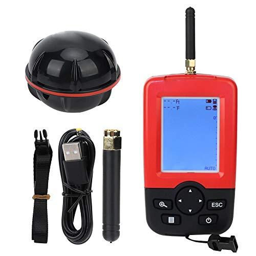 Vbest life Buscador de Profundidad de Pesca al Aire Libre, Sensor de sonda inalámbrico Detector de Profundidad de Pesca Fishfinder en Agua Dulce y mar