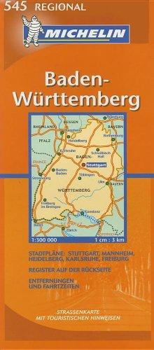 Baden-Württemberg (Michelin Regional Deutschland)