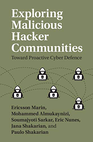 Exploring Malicious Hacker Communities: Toward Proactive Cyber Defence
