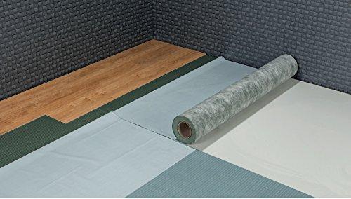 PRINZ Silent Pur Tack Trittschalldämmung mit Fixierung f. Vinyl, Schwermatte für Vinyl Böden 1,8 mm 6,5 m²