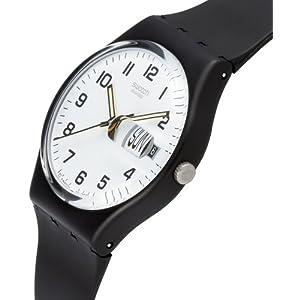 Swatch Orologio da Uomo Analogico al Quarzo con Cinturino in Plastica – GB 743