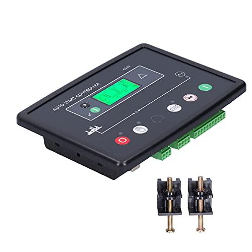 Sistema de control del generador panel de control de arranque automático del generador de gasolina con pantalla digital controladores de energía diesel equipo del sistema de protección dse6110 dc8-35v