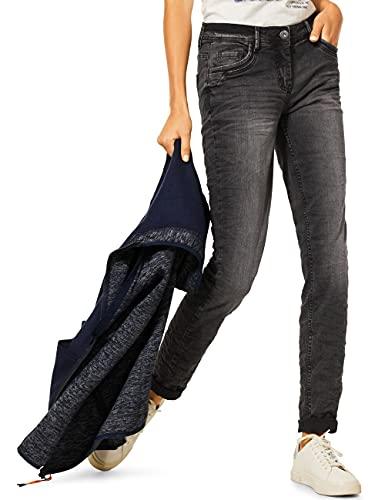 CECIL Denim Loose Fit Middle Waist Slim Legs Jeanshose