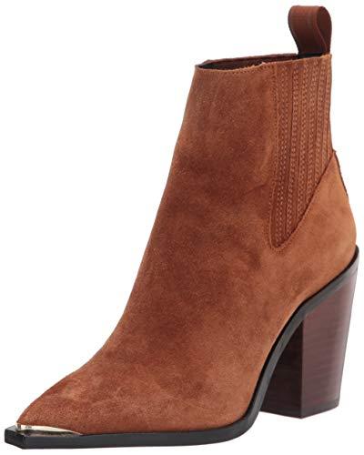 Kenneth Cole New York Women's WEST Side Bootie RB Uniform Dress Shoe, Rust, 9 Medium US