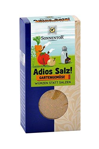 Sonnentor Adios Salz Gartengemüse Gemüsemischung bio, 3er Pack (3 x 60 g)